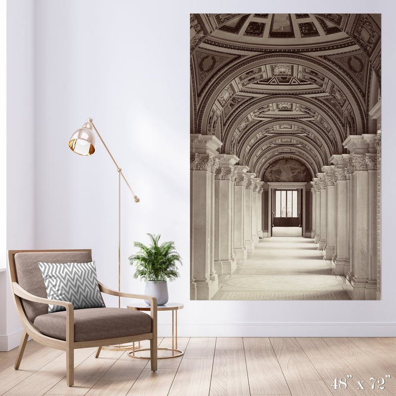 Repetition Colossal Art Print - Trendy Custom Wallpaper | Contemporary Wallpaper Designs | The Detroit Wallpaper Co.
