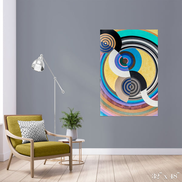 Rhythm Colossal Art Print - Trendy Custom Wallpaper | Contemporary Wallpaper Designs | The Detroit Wallpaper Co.