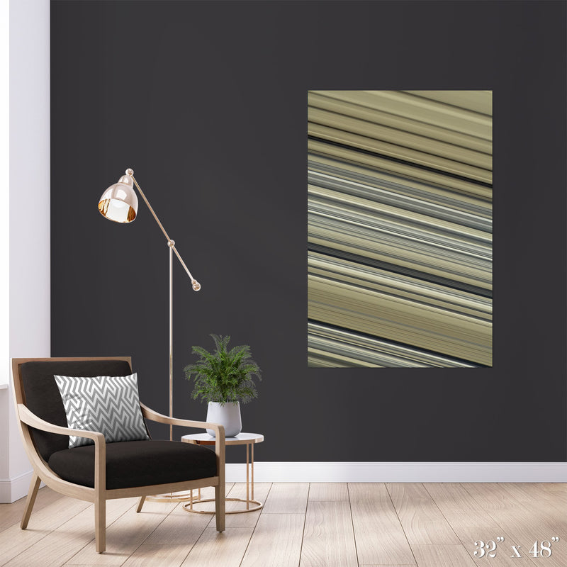 Rings of Saturn Colossal Art Print - Trendy Custom Wallpaper | Contemporary Wallpaper Designs | The Detroit Wallpaper Co.