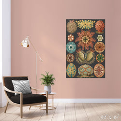 Sea Squirts Colossal Art Print - Trendy Custom Wallpaper | Contemporary Wallpaper Designs | The Detroit Wallpaper Co.