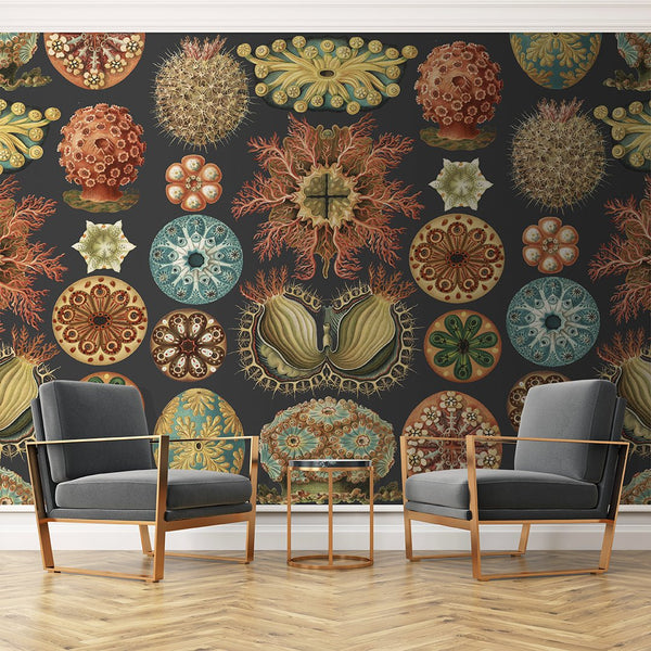 Tunicata Mural <br> Great Wall - Trendy Custom Wallpaper | Contemporary Wallpaper Designs | The Detroit Wallpaper Co.