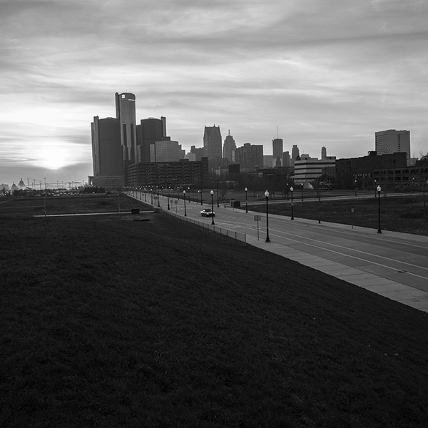Skyline <br> Amy Sacka Photography - The Detroit Wallpaper Co.