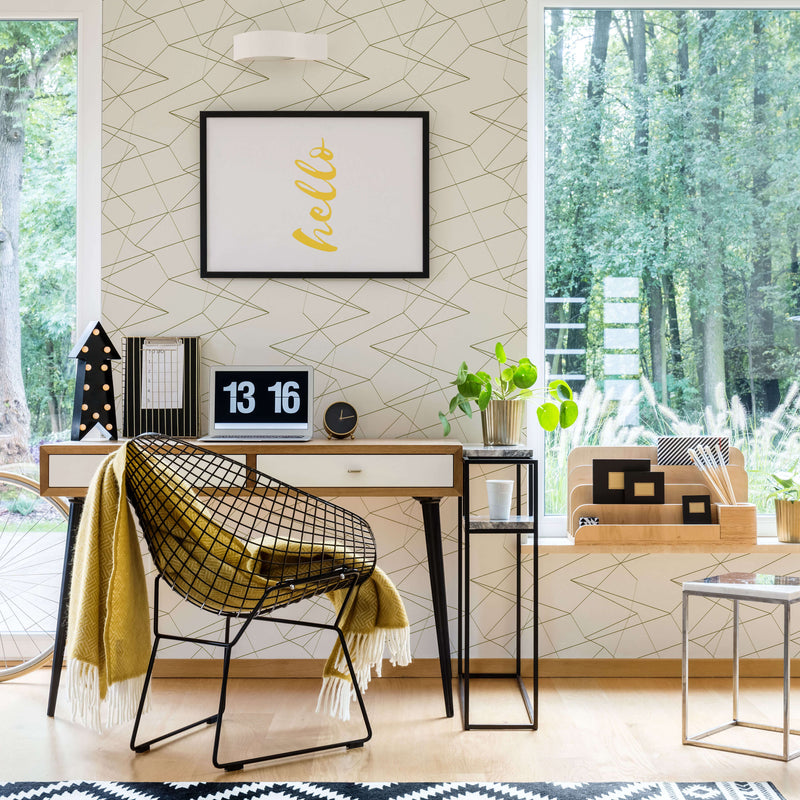 Spatial-1 - Trendy Custom Wallpaper | Contemporary Wallpaper Designs | The Detroit Wallpaper Co.