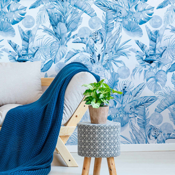 Stalk - Delft - Trendy Custom Wallpaper | Contemporary Wallpaper Designs | The Detroit Wallpaper Co.