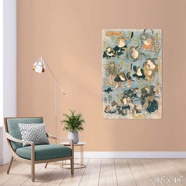 TMNF Colossal Art Print - Trendy Custom Wallpaper | Contemporary Wallpaper Designs | The Detroit Wallpaper Co.