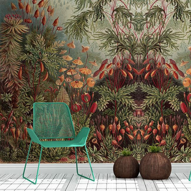 Thrive Mural <br> Great Wall - Trendy Custom Wallpaper | Contemporary Wallpaper Designs | The Detroit Wallpaper Co.