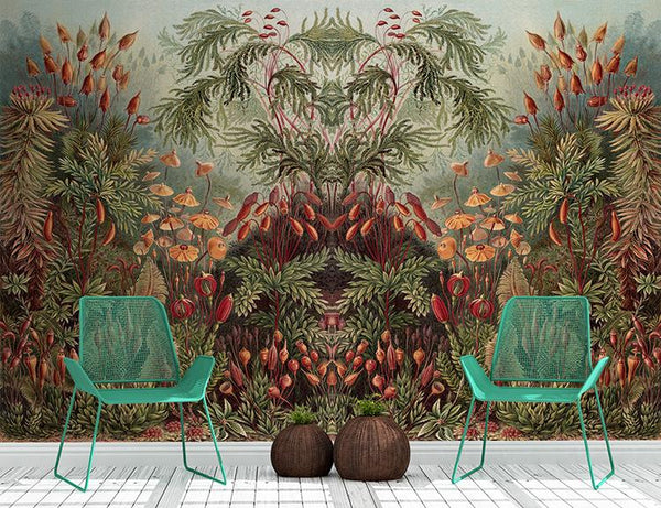 Thrive Mural - Trendy Custom Wallpaper | Contemporary Wallpaper Designs | The Detroit Wallpaper Co.