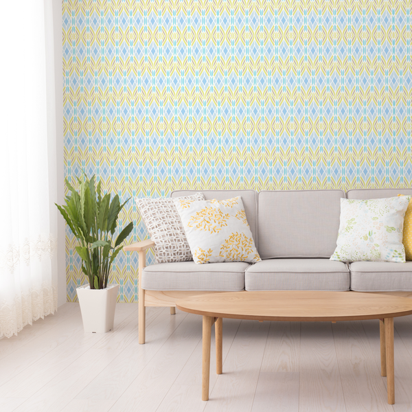 Trellis - Fresh - Trendy Custom Wallpaper | Contemporary Wallpaper Designs | The Detroit Wallpaper Co.