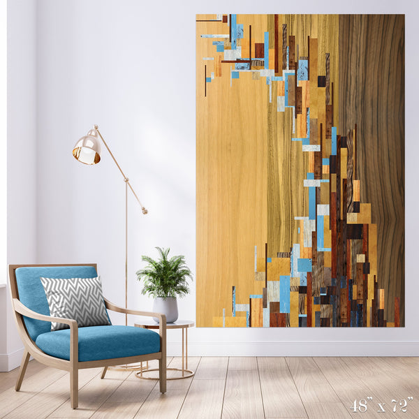 Tsunami Colossal Art Print - Trendy Custom Wallpaper | Contemporary Wallpaper Designs | The Detroit Wallpaper Co.