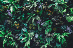 Vertical Garden Mural <br> Great Wall - Trendy Custom Wallpaper | Contemporary Wallpaper Designs | The Detroit Wallpaper Co.