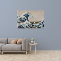 Wave Colossal Art Print - Trendy Custom Wallpaper | Contemporary Wallpaper Designs | The Detroit Wallpaper Co.