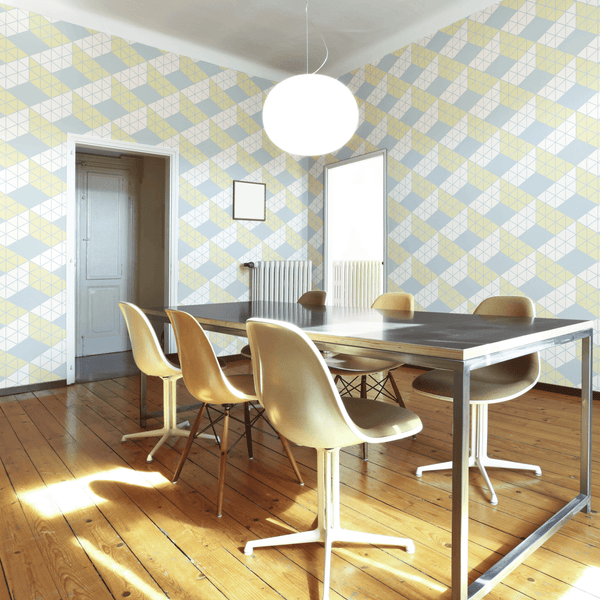 Zig Zag - Spring - Trendy Custom Wallpaper | Contemporary Wallpaper Designs | The Detroit Wallpaper Co.