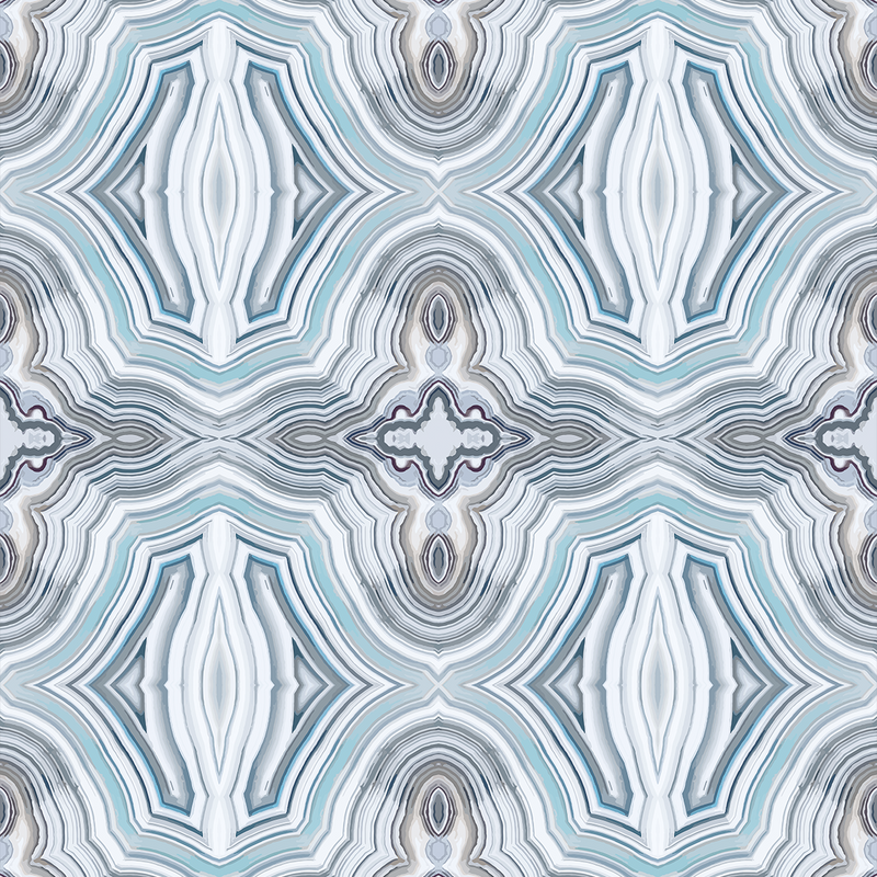 Agate - Refresh - Trendy Custom Wallpaper | Contemporary Wallpaper Designs | The Detroit Wallpaper Co.