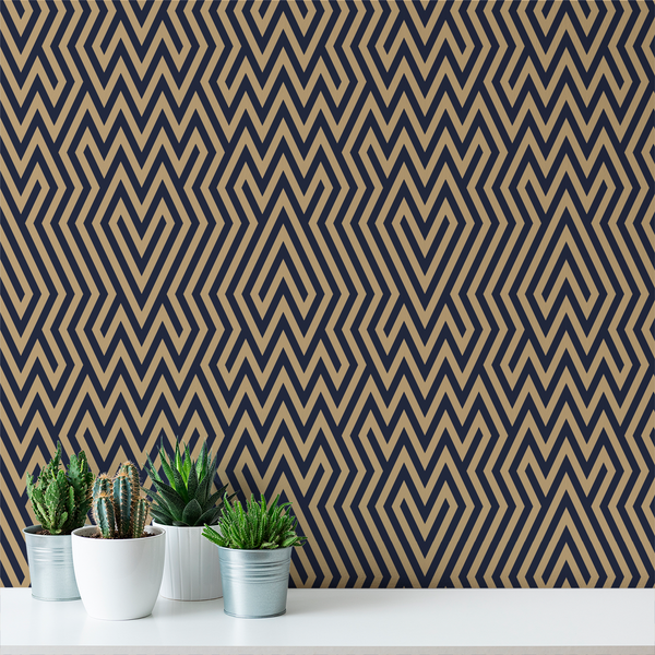 Amazing - Gatsby - Trendy Custom Wallpaper | Contemporary Wallpaper Designs | The Detroit Wallpaper Co.