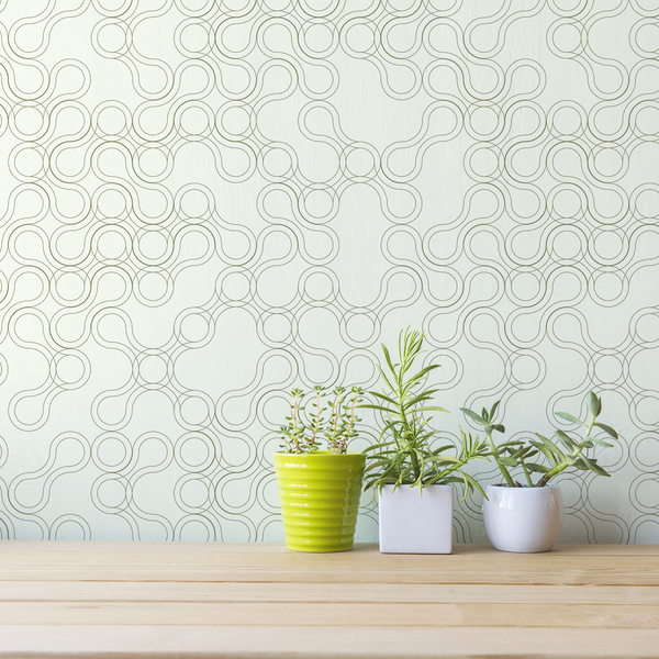 Amoeba - Divide - Trendy Custom Wallpaper | Contemporary Wallpaper Designs | The Detroit Wallpaper Co.