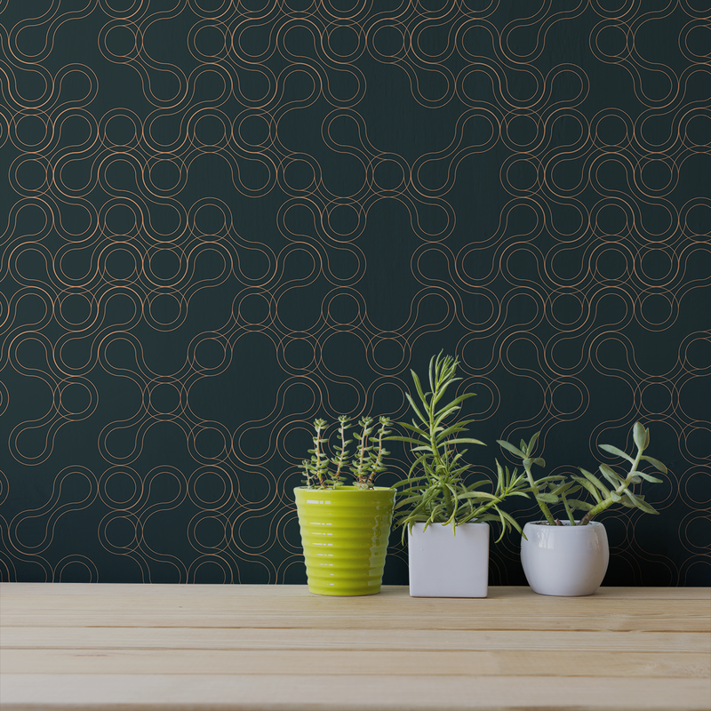 Amoeba - Proto - Trendy Custom Wallpaper | Contemporary Wallpaper Designs | The Detroit Wallpaper Co.