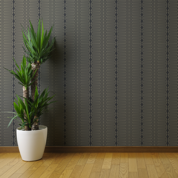 Apollo - Tile - Trendy Custom Wallpaper | Contemporary Wallpaper Designs | The Detroit Wallpaper Co.