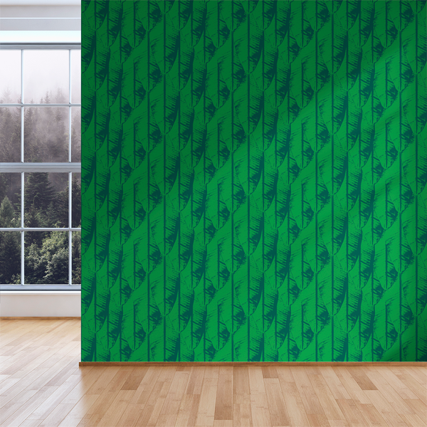 Banana Palm - Jade - Trendy Custom Wallpaper | Contemporary Wallpaper Designs | The Detroit Wallpaper Co.