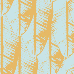Banana Palm - Paradise - Trendy Custom Wallpaper | Contemporary Wallpaper Designs | The Detroit Wallpaper Co.