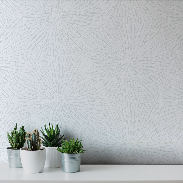 Basket - Squiggle <br> Victoria Larson - Trendy Custom Wallpaper | Contemporary Wallpaper Designs | The Detroit Wallpaper Co.