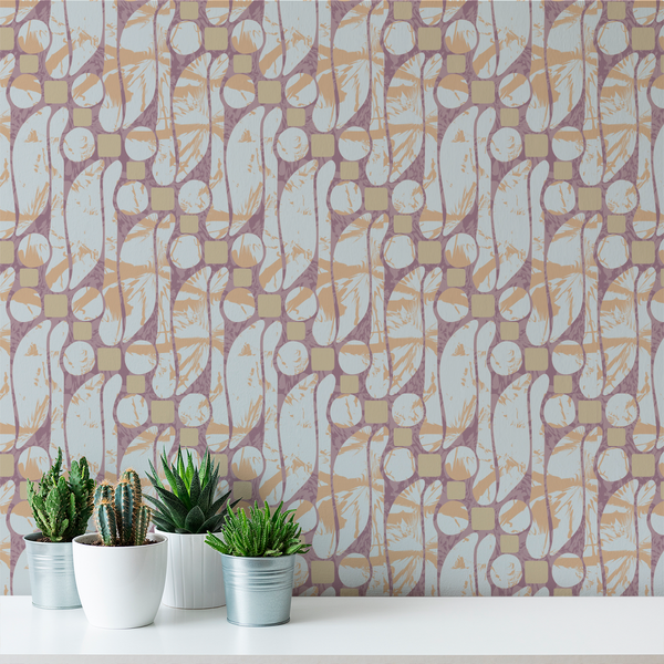 Batik - Commune - Trendy Custom Wallpaper | Contemporary Wallpaper Designs | The Detroit Wallpaper Co.