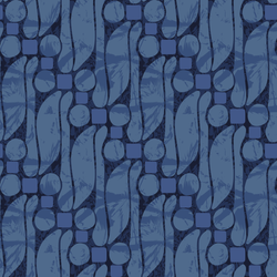 Batik - Deep - Trendy Custom Wallpaper | Contemporary Wallpaper Designs | The Detroit Wallpaper Co.