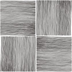 Blades of Grass - Ink <br> Elizabeth Salonen - Trendy Custom Wallpaper | Contemporary Wallpaper Designs | The Detroit Wallpaper Co.
