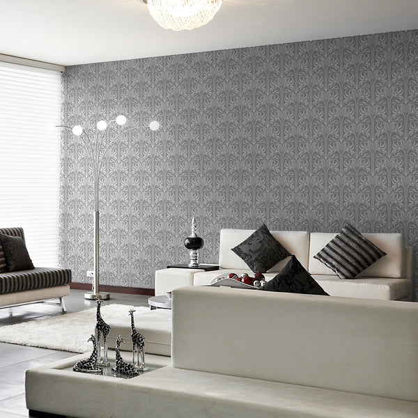 Bloom - Peel and Stick Wallpaper - Trendy Custom Wallpaper | Contemporary Wallpaper Designs | The Detroit Wallpaper Co.