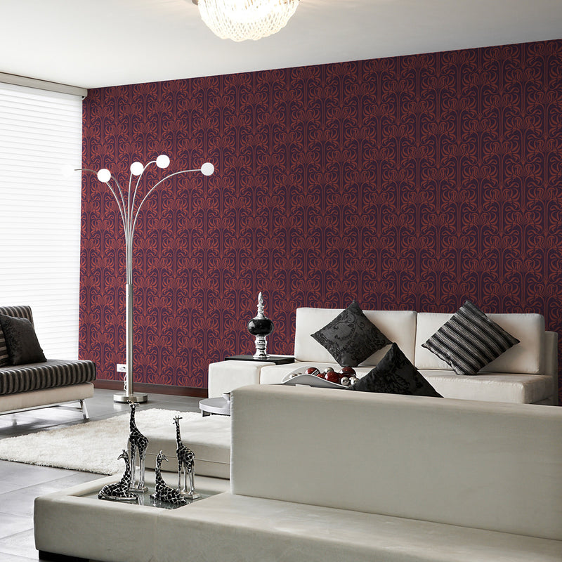 Bloom - Boardwalk - Trendy Custom Wallpaper | Contemporary Wallpaper Designs | The Detroit Wallpaper Co.