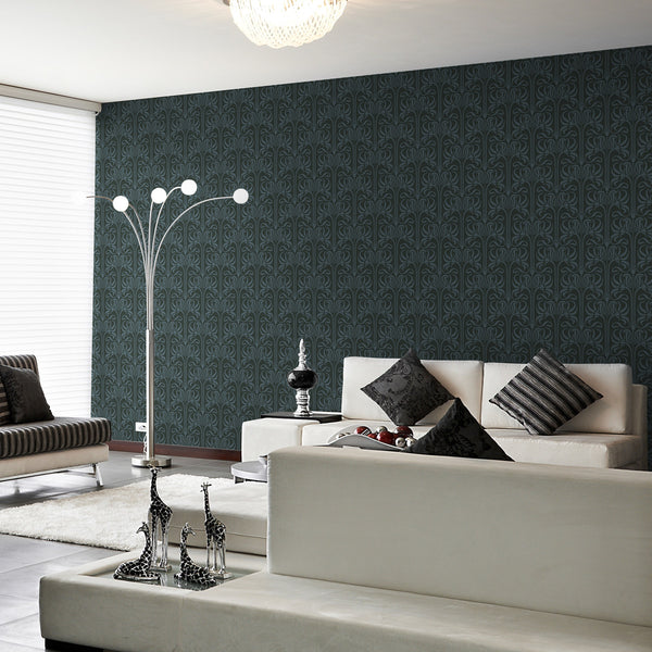 Bloom - Edison - Trendy Custom Wallpaper | Contemporary Wallpaper Designs | The Detroit Wallpaper Co.