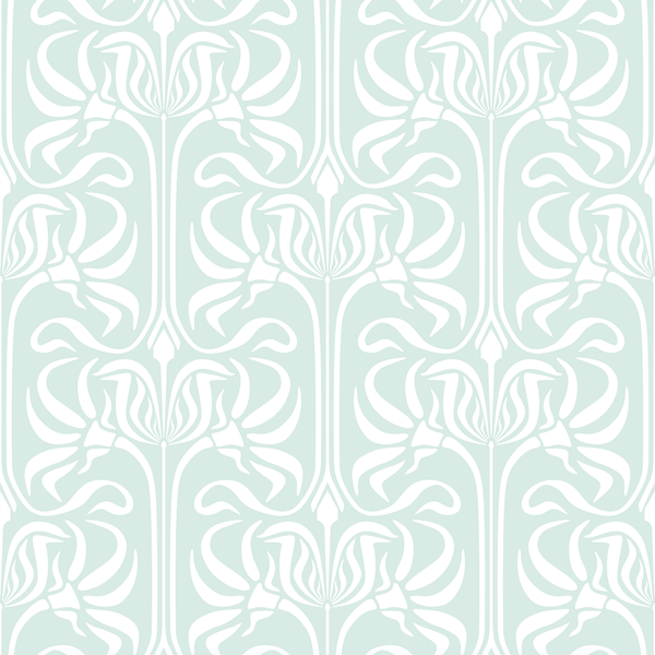 Bloom - Steinbeck - Trendy Custom Wallpaper | Contemporary Wallpaper Designs | The Detroit Wallpaper Co.