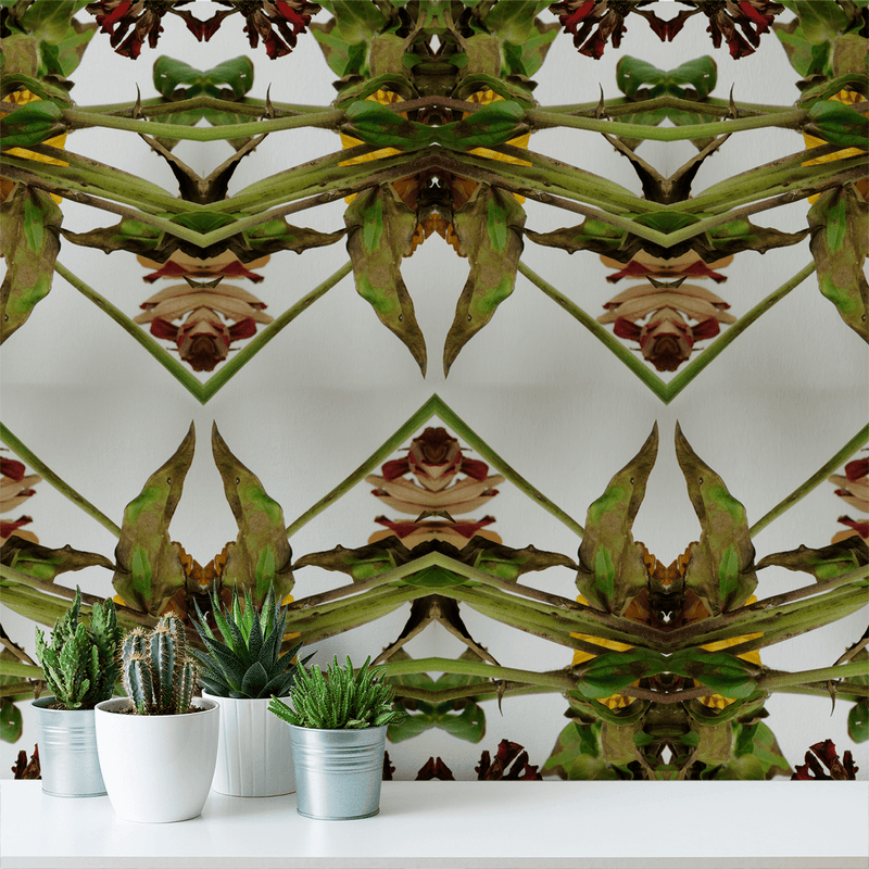 Botanikis <br> Nanci & Allen Einstein - Trendy Custom Wallpaper | Contemporary Wallpaper Designs | The Detroit Wallpaper Co.