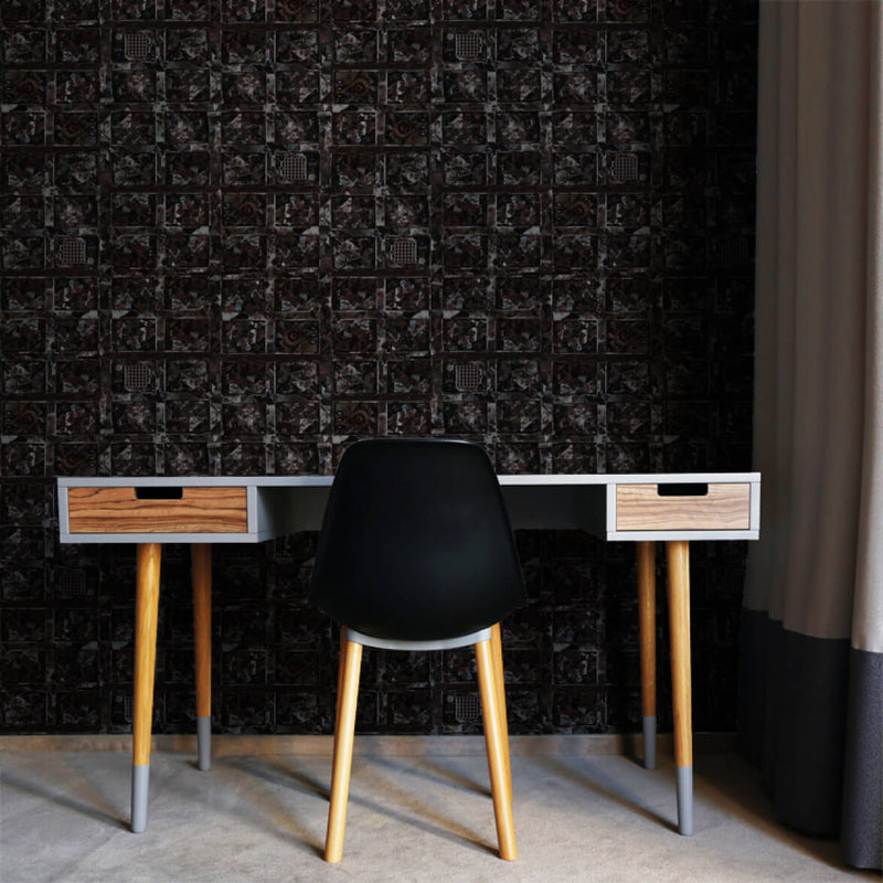 Brownies <br> Nanci & Allen Einstein - Trendy Custom Wallpaper | Contemporary Wallpaper Designs | The Detroit Wallpaper Co.