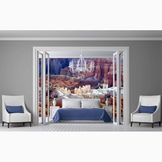Bryce Canyon - Trendy Custom Wallpaper | Contemporary Wallpaper Designs | The Detroit Wallpaper Co.