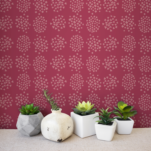 Burst - Candy <br> Elizabeth Salonen - Trendy Custom Wallpaper | Contemporary Wallpaper Designs | The Detroit Wallpaper Co.