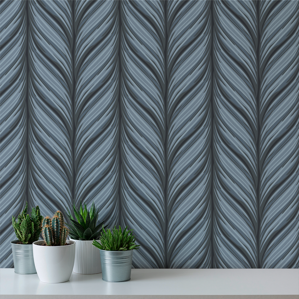 Cable Knit -  Industrial - Trendy Custom Wallpaper | Contemporary Wallpaper Designs | The Detroit Wallpaper Co.