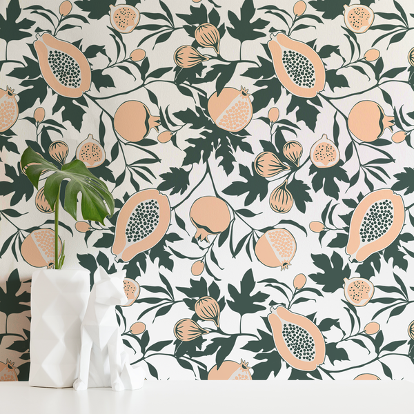 Calimyrna - Dreamsickle - Trendy Custom Wallpaper | Contemporary Wallpaper Designs | The Detroit Wallpaper Co.
