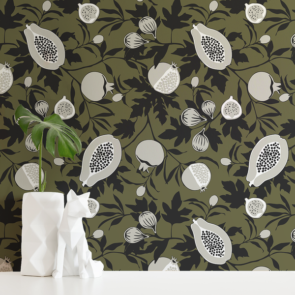 Calimyrna - Foxtrot - Trendy Custom Wallpaper | Contemporary Wallpaper Designs | The Detroit Wallpaper Co.