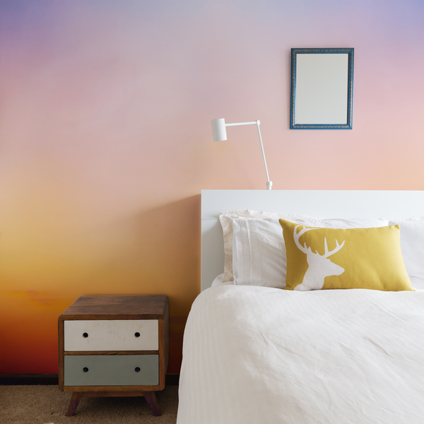 Ciel - Sunset - Trendy Custom Wallpaper | Contemporary Wallpaper Designs | The Detroit Wallpaper Co.