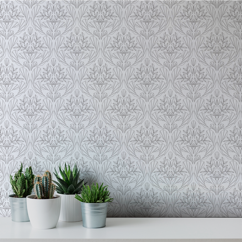 Cora - Karma - Trendy Custom Wallpaper | Contemporary Wallpaper Designs | The Detroit Wallpaper Co.