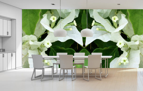 Cuba Flowers - Trendy Custom Wallpaper | Contemporary Wallpaper Designs | The Detroit Wallpaper Co.