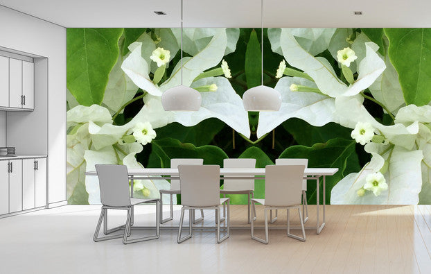Cuba Flowers <br> Brenda Rosenberg - Trendy Custom Wallpaper | Contemporary Wallpaper Designs | The Detroit Wallpaper Co.