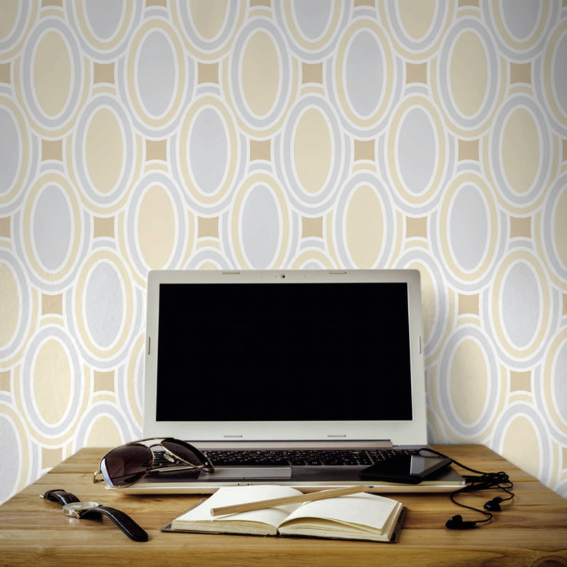 Deco Loops <br> Victoria Larson - Trendy Custom Wallpaper | Contemporary Wallpaper Designs | The Detroit Wallpaper Co.