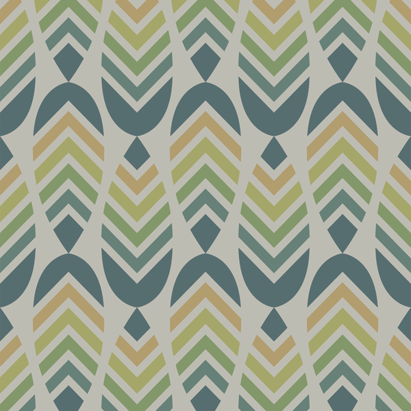 Deep V - Camp - Trendy Custom Wallpaper | Contemporary Wallpaper Designs | The Detroit Wallpaper Co.