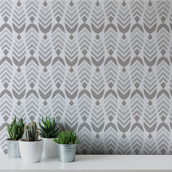 Deep V - Condo - Trendy Custom Wallpaper | Contemporary Wallpaper Designs | The Detroit Wallpaper Co.