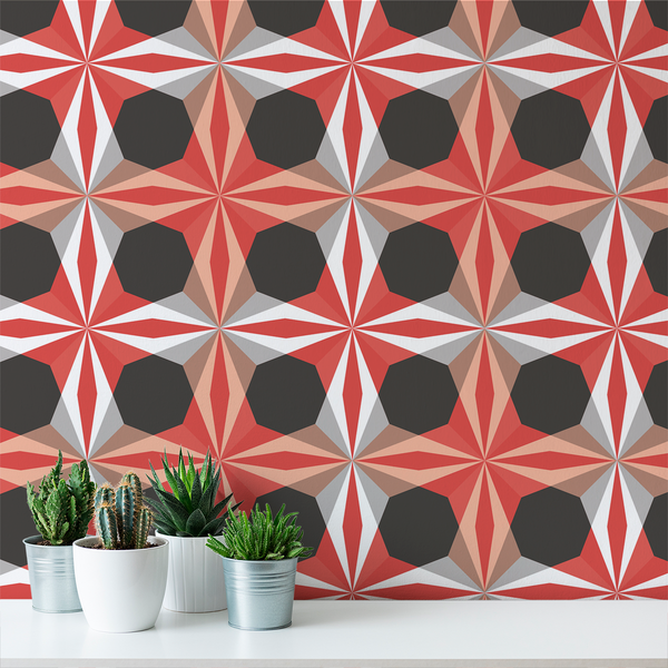 Delight - Peppermint - Trendy Custom Wallpaper | Contemporary Wallpaper Designs | The Detroit Wallpaper Co.