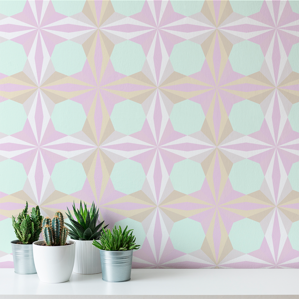 Delight - Treat - Trendy Custom Wallpaper | Contemporary Wallpaper Designs | The Detroit Wallpaper Co.