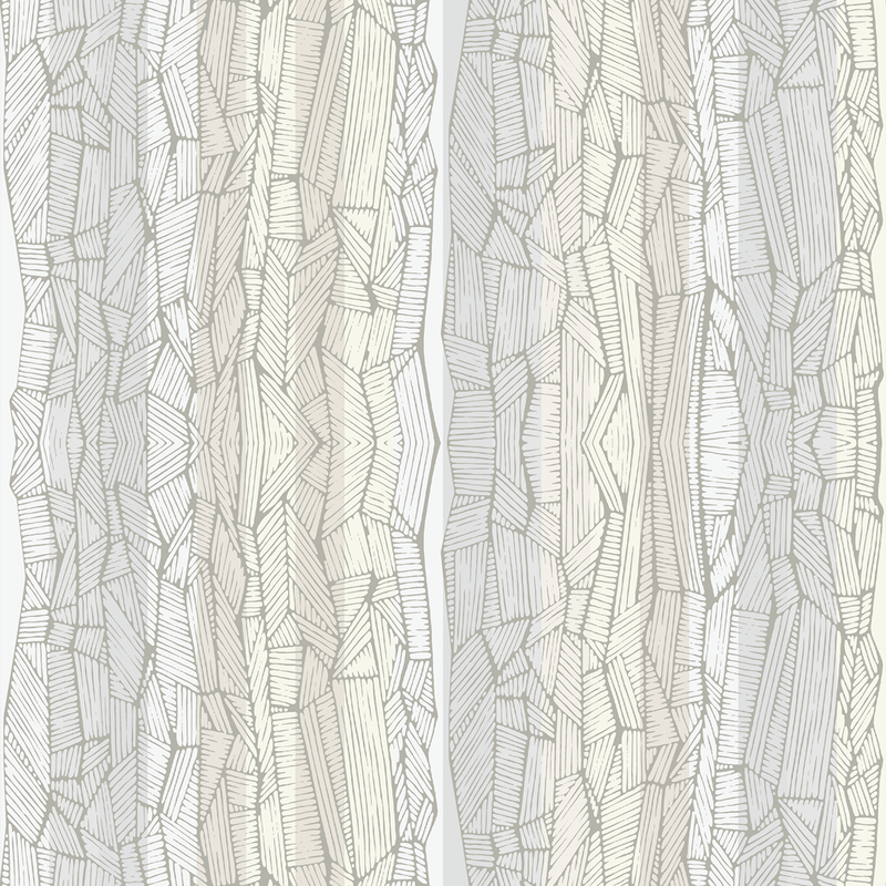 Dig Dug - Birch - Trendy Custom Wallpaper | Contemporary Wallpaper Designs | The Detroit Wallpaper Co.
