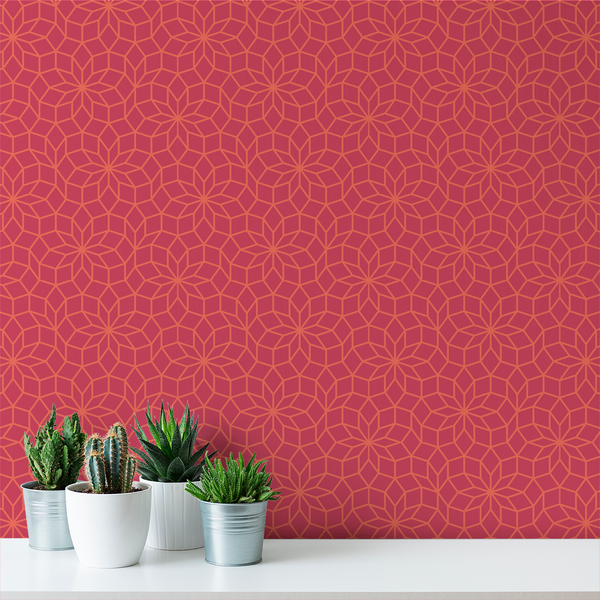 Dodeca - Candy - Trendy Custom Wallpaper | Contemporary Wallpaper Designs | The Detroit Wallpaper Co.