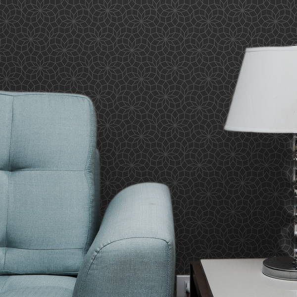 Dodeca - Grit - Trendy Custom Wallpaper | Contemporary Wallpaper Designs | The Detroit Wallpaper Co.